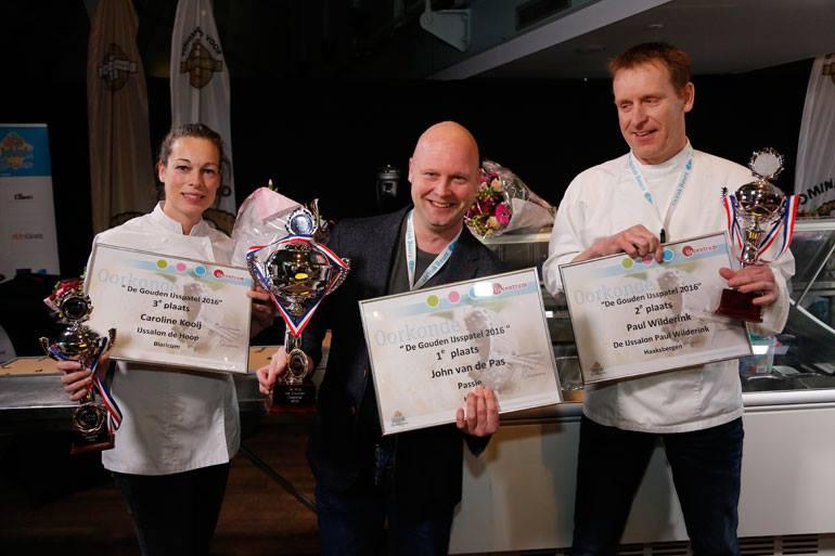 Passi wint Gouden IJsspatel 2016!